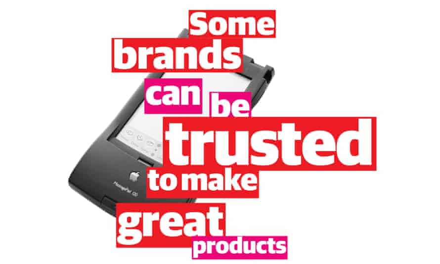 some brands can be trusted photomontage
