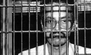 William Morales, 37, shown in jail in Mexico in 1983 after his escape from the US. The Puerto Rican militant subsequently fled to Cuba where he has resided ever since.