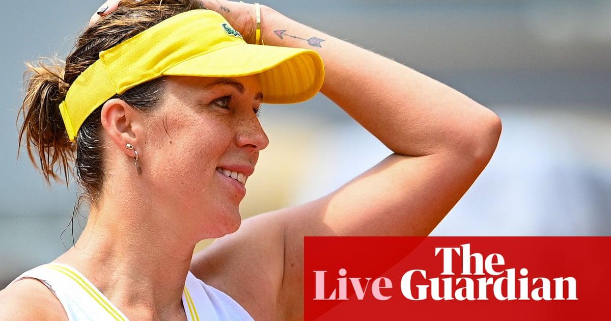 French Open 2021: Tsitsipas v Carreño Busta, Pavlyuchenkova through, and Serena Williams in action – live!