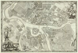 St Petersburg, 1753: the city was initially built without any bridges.