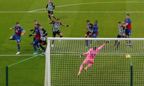 Gary Cahill's winner for Crystal Palace stalls Newcastle's recovery
