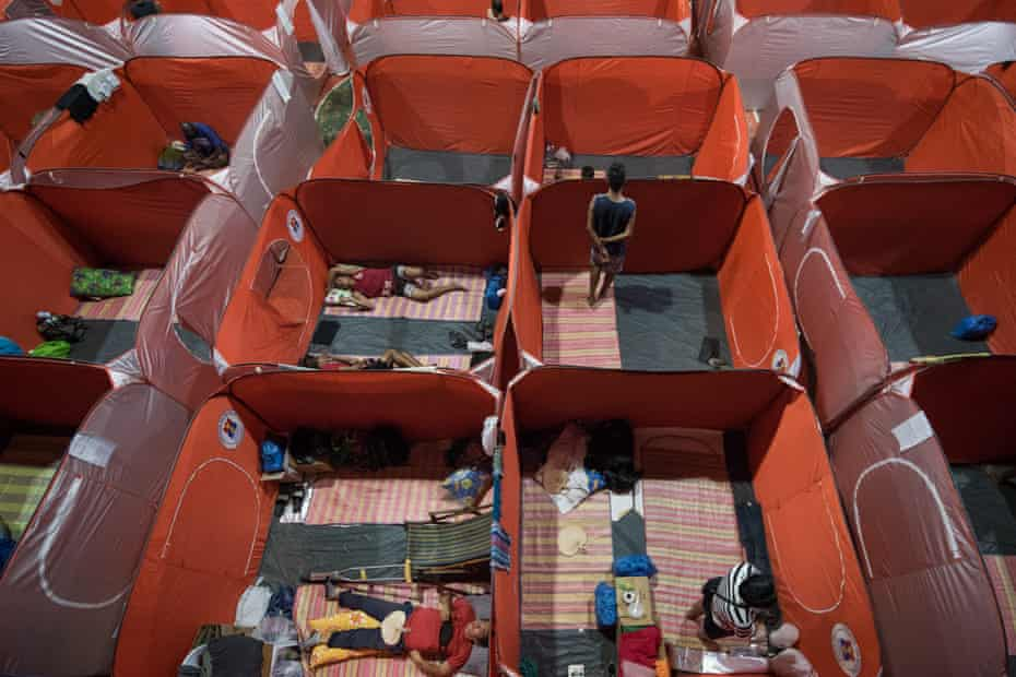 Pop-up cubicles that were supposed to be temporary shelters for those on the streets felt more like jail cells.