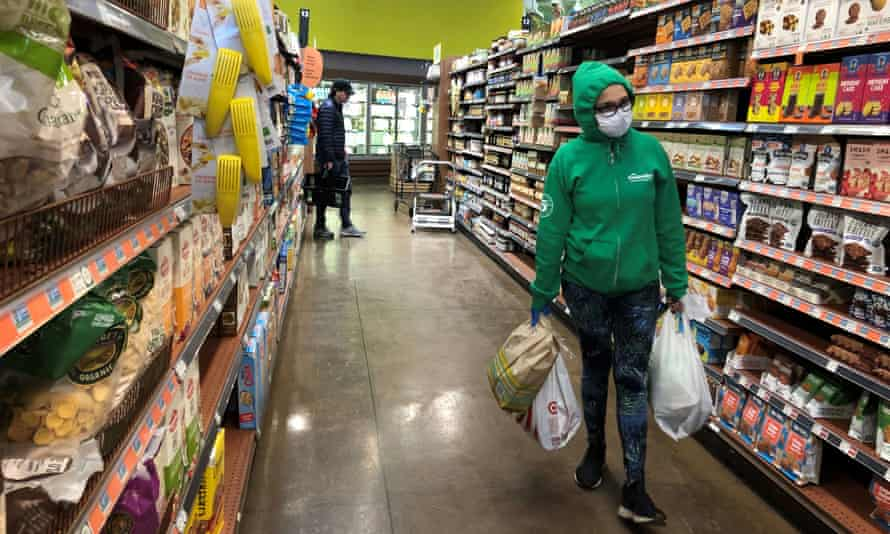 'The store is more crowded with customers and Amazon Prime shoppers,' said a Whole Foods associate in Birmingham, Michigan.