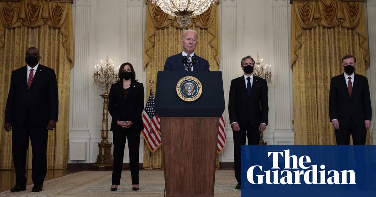 Joe Biden promises to 'get Americans home' from Afghanistan – video