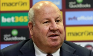 Aston Villa chief executive Keith Wyness has been suspended by the Championship club