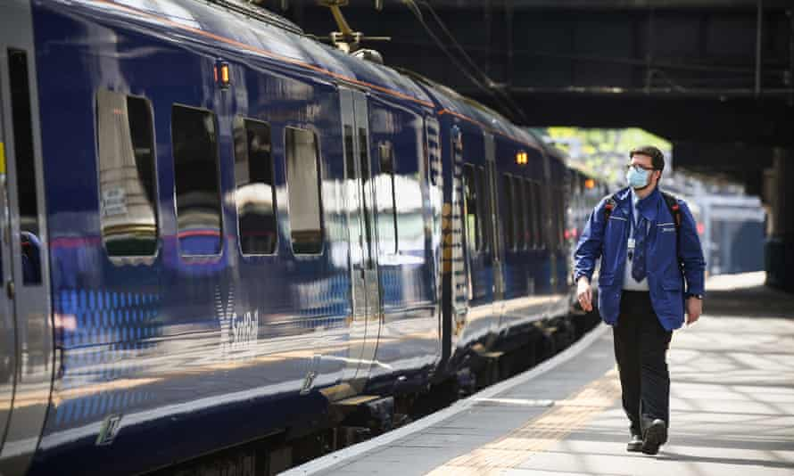 The government says it is committed to growing the rail network despite structural challenges since Covid-19 struck.