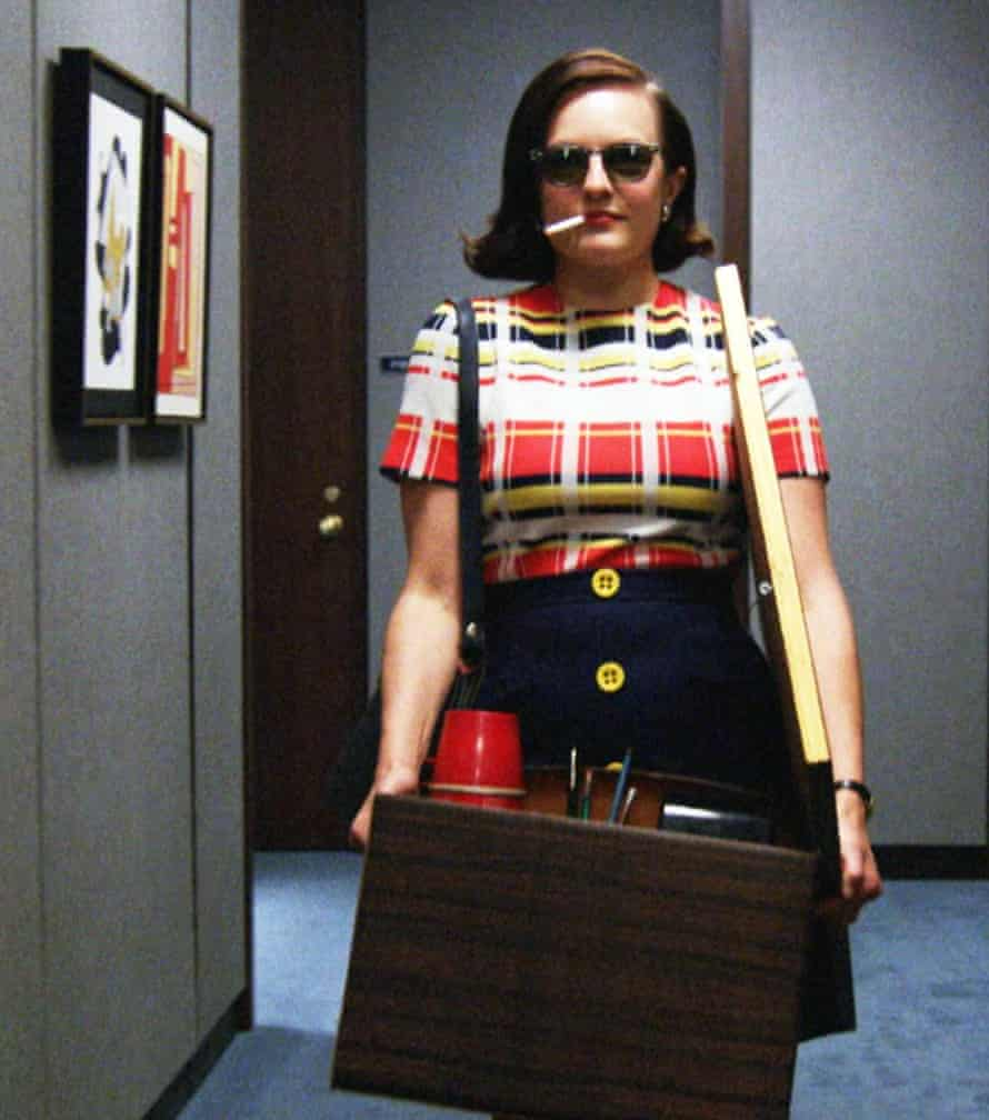Elisabeth Moss as Peggy in Mad Men