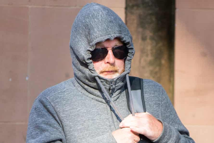 George Ormond arriving at Newcastle crown court in 2018.