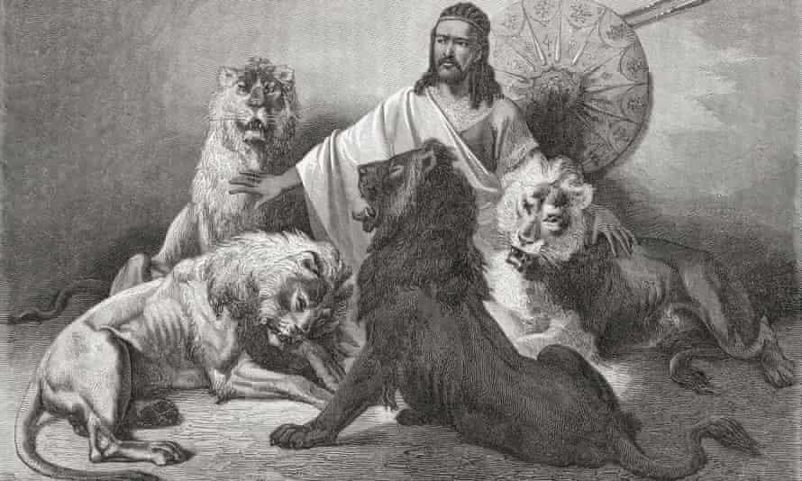 Tewodros II, from El Mundo En La Mano, published 1875.