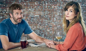 Chris O'Dowd and Rosamund Pike in State of the Union.