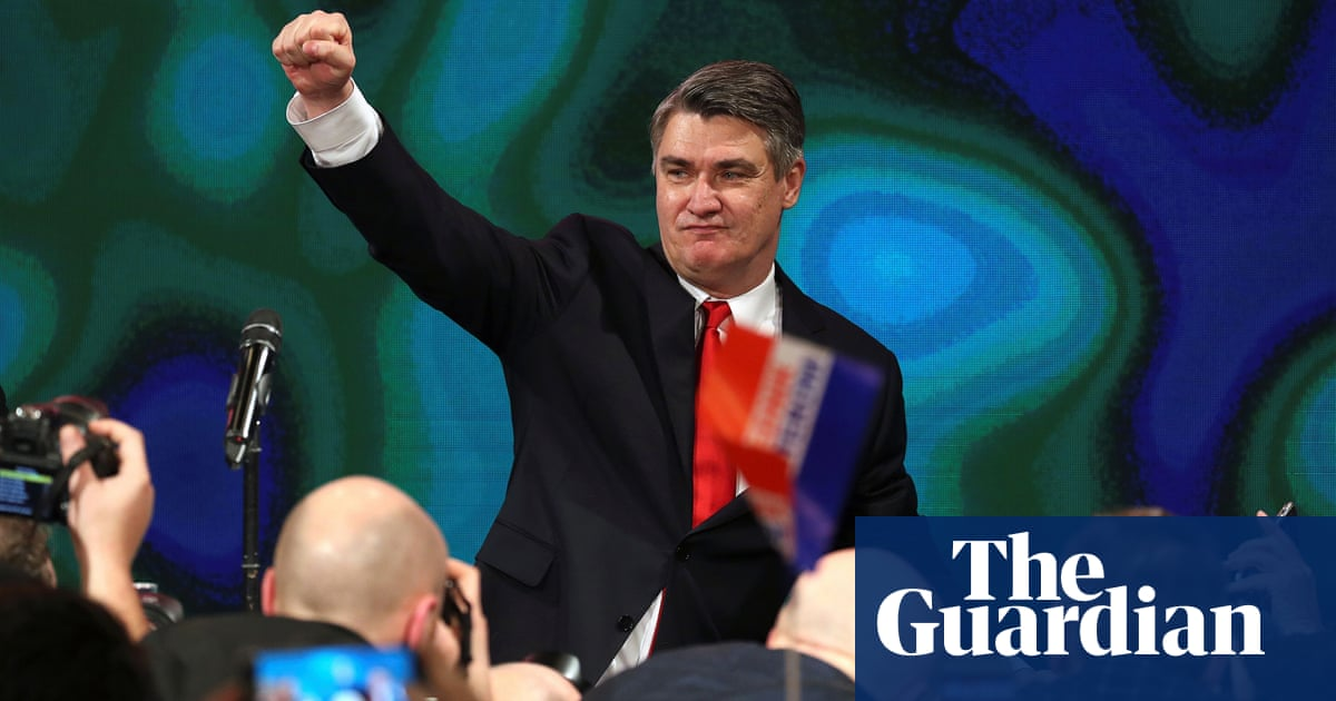 Croatia elects leftist Zoran Milanović to be next president