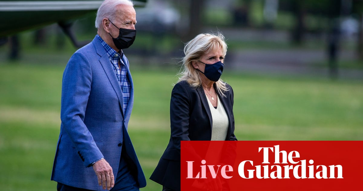 Biden set to announce new mask guidance for vaccinated people – US politics live