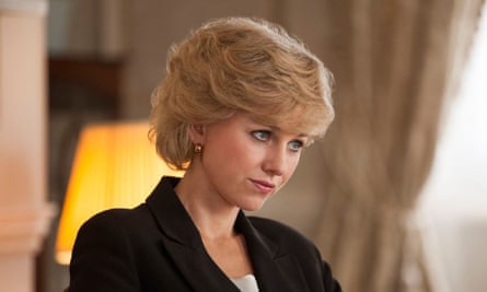 Misguided, simpering conviction ... Naomi Watts as Diana, Princess of Wales.