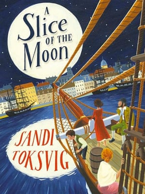 "<a href=""https://bookshop.theguardian.com/catalog/product/view/id/339253/""><strong>A Slice of the Moon</strong></a><strong> by Sandi Toksvig </strong>(Doubleday £9.99)<br>Underlying the fast-paced action of this vivid mini-epic set during the Irish potato famine is a thoughtful look at the challenge of emigration. Eleven-year-old Slim tells the story of the family's decline when the potato crop fails, sending the family to the US. The long sea-voyage across the Atlantic brings new friendships but also tragedy, a suitable preface to the equally mixed picture of hope and disappointment which greets them on arrival. <a href=""http://preview.gutools.co.uk/profile/sandi-toksvig"">Sandi Toksvig</a> leaves an impression of courage in the face of adversity. (9+)"