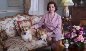 Olivia Colman as The Crown.