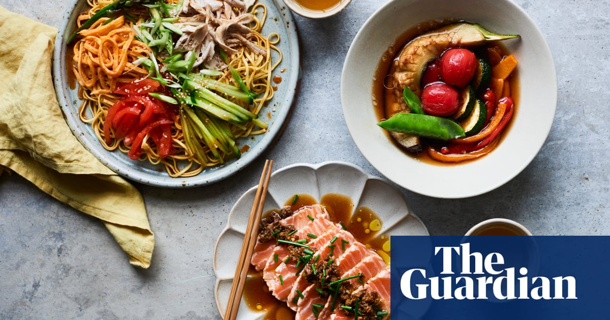 Masaki Sugisaki's Japanese summer meal – recipes