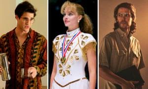 Darren Criss in The Assassination of Gianni Versace; Margot Robbie in I, Tonya; Taylor Kitsch in Waco.