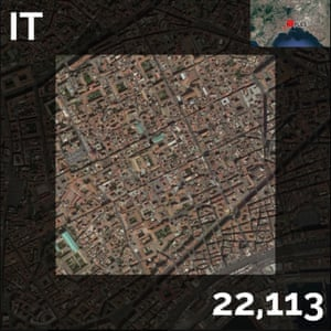 IT - population density maps - naples