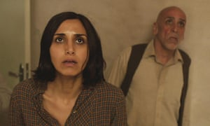 What's on the ceiling? Narges Rashidi and Hamid Djavadan in Under the Shadow.
