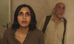 Narges Rashidi and Hamid Djavadan in Babak Anvari's 'gripping' Under the Shadow.