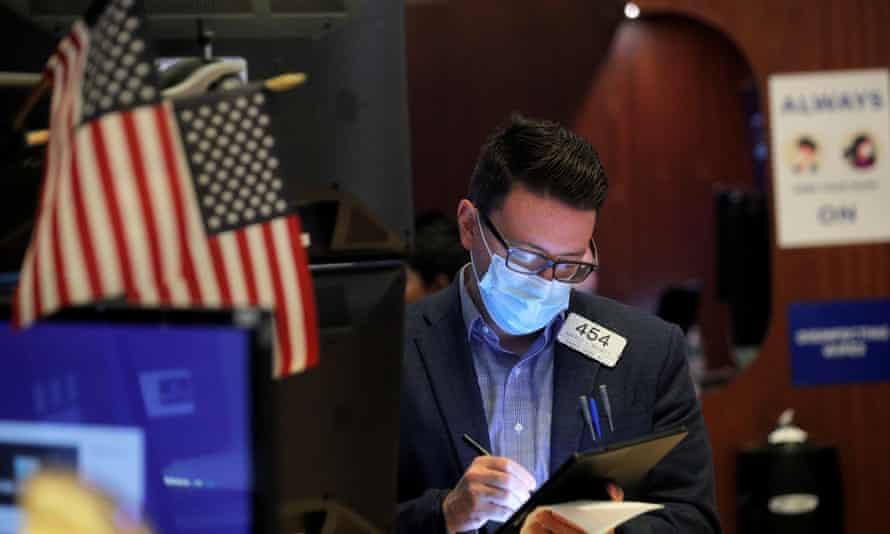 A Wall Street trader: