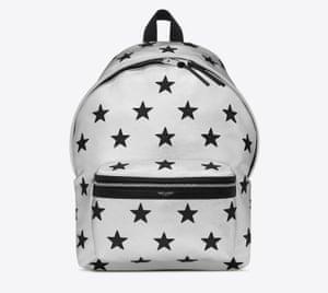 Backpack, £1095, Saint Laurent