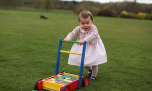 Princess Charlotte: one year old and not running yet?
