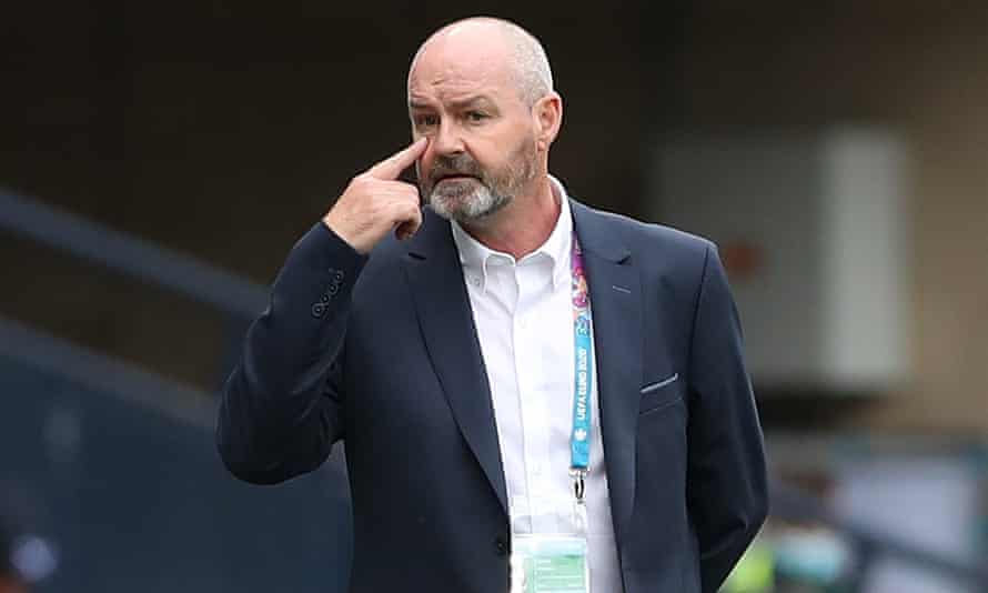 The Scotland manager, Steve Clarke, said his side would 'learn lessons' after being beaten 2-0 by the Czech Republic