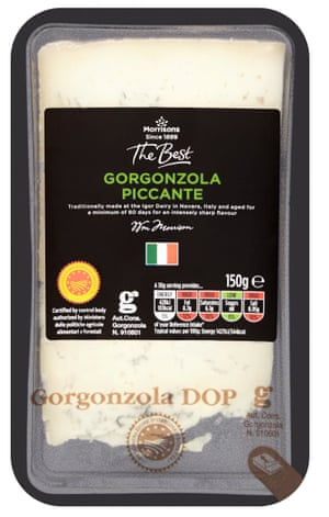 Morissons The Best Gorgonzola Piccante