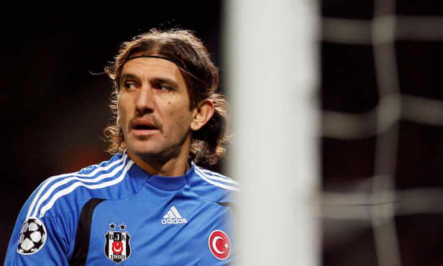 Rustu Recber had a five-year spell with Besiktas during his playing career.