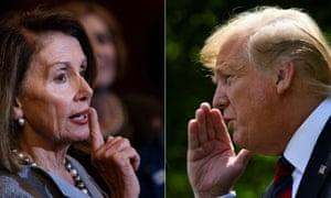 Nancy Pelosi has been perfecting the art of getting under Donald Trump's skin.
