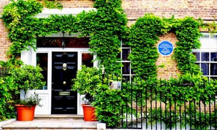 Hogarth House in Richmond, where Virginia and Leonard Woolf founded the Hogarth Press.