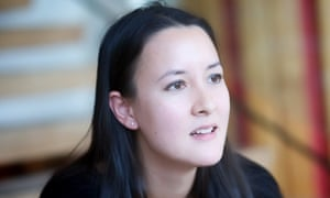 Poet Sarah Howe, who won both the TS Eliot and the Young Writer of the Year Award this year
