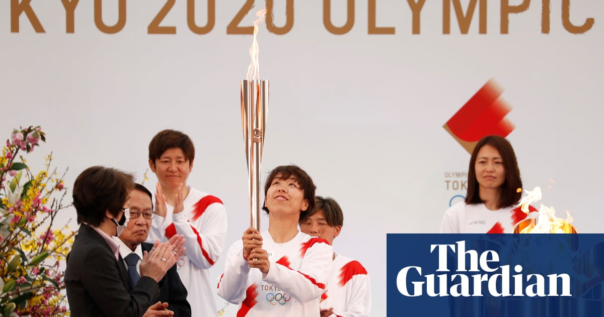 Tokyo Olympic torch relay begins as sign of hope in Japan amid Covid curbs