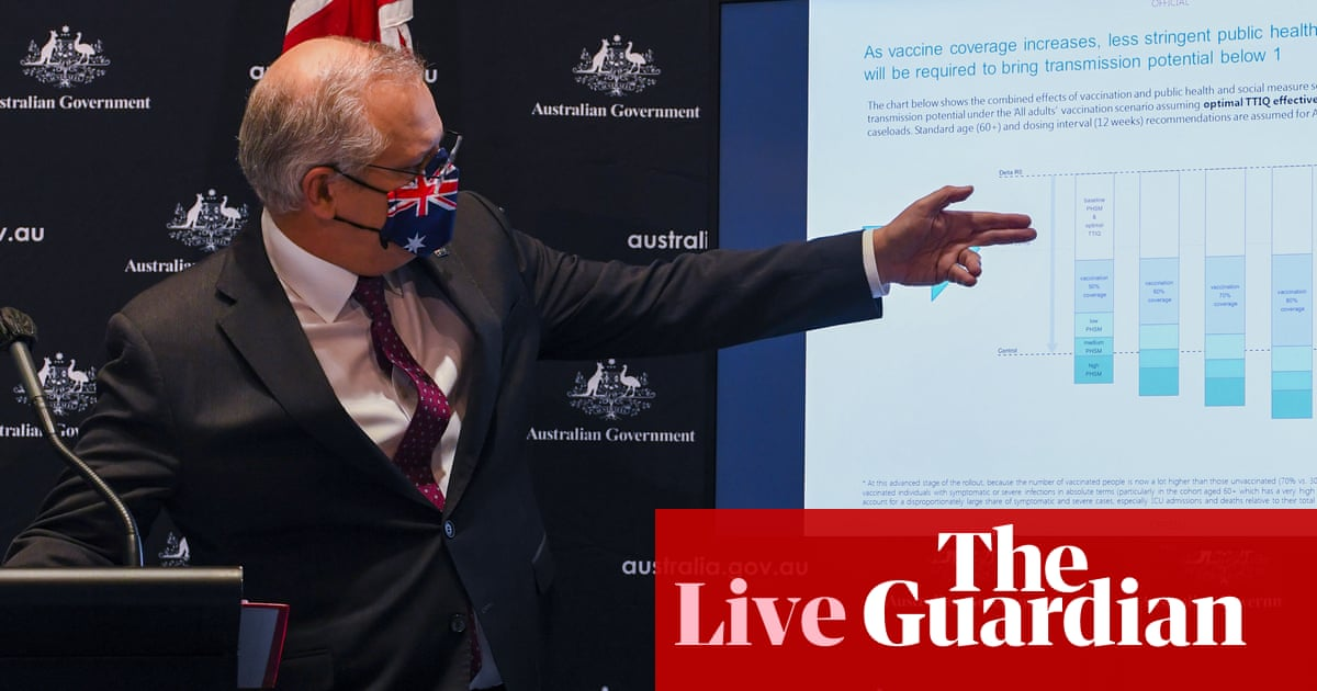 Experts' modelling for vaccination targets released – as it happened