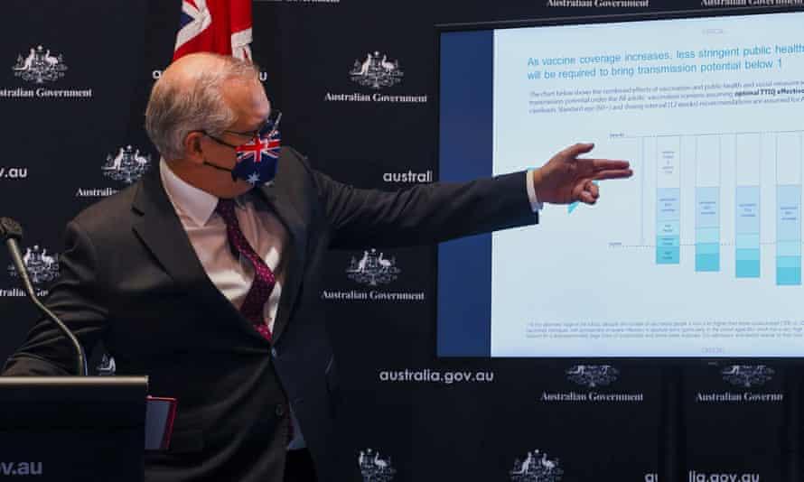The prime minister Scott Morrison