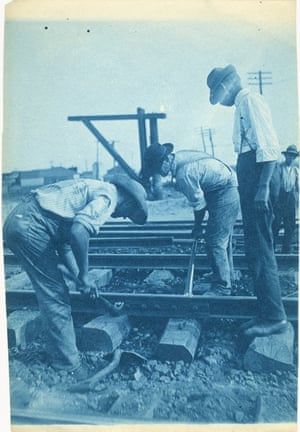 Masters made extensive studies of railroad workers, many were newly arrived immigrants from Europe