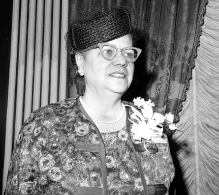 Anna Hedgeman, who helped to organise the Great March on Washington in 1963.