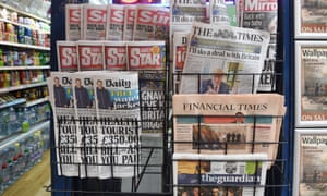 Papers for sale, but fewer want to buy them.
