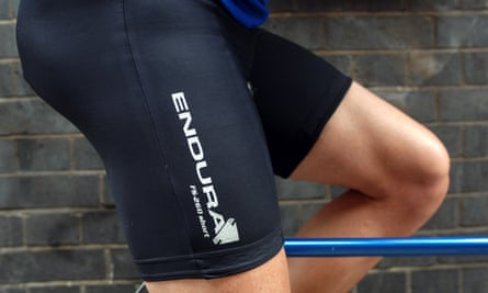 Lycra has been banned at breakfast at New Zealand's Plough Hotel because of 'bumps and bulges' which are on display.
