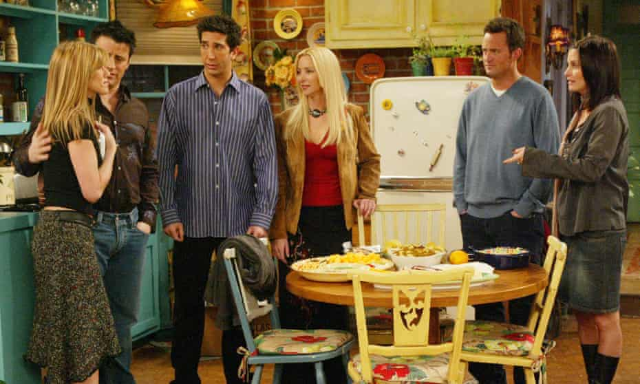 The one where they didn't make any more: Jennifer Aniston, Matt Le Blanc, David Schwimmer, Lisa Kudrow, Matthew Perry and Courtney Cox Arquette.
