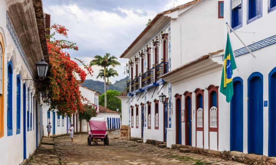 Paraty in Brazil