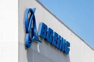 Boeing's factory in Renton, Washington, where its 737 Max airliners are built