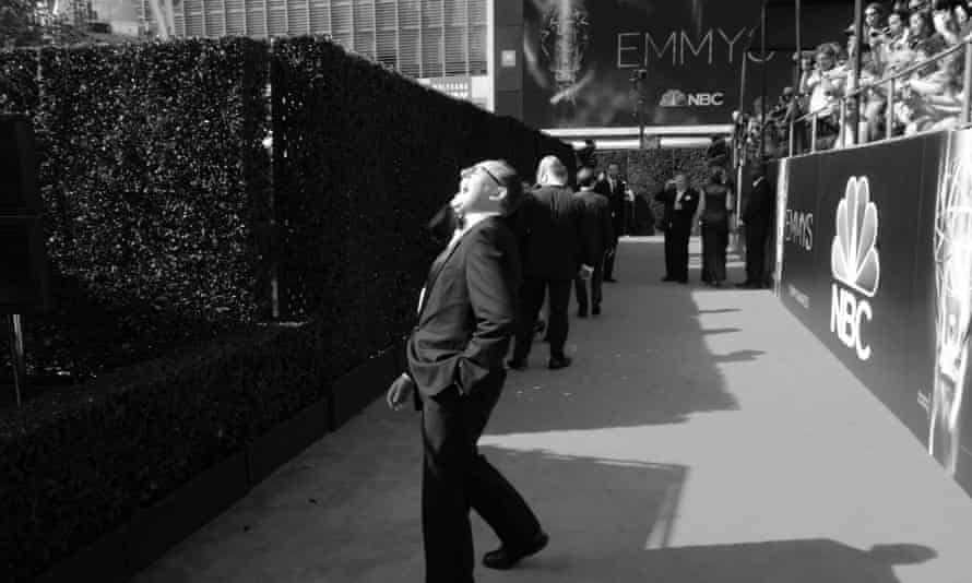 Martin enjoys the Emmys in 2014