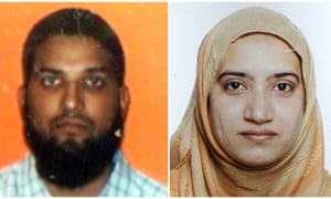 The two suspects in the mass shooting in San Bernardino