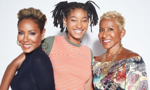 Three of the best: Jada Pinkett Smith with her daughter Willow and mother on Red Table Talk.