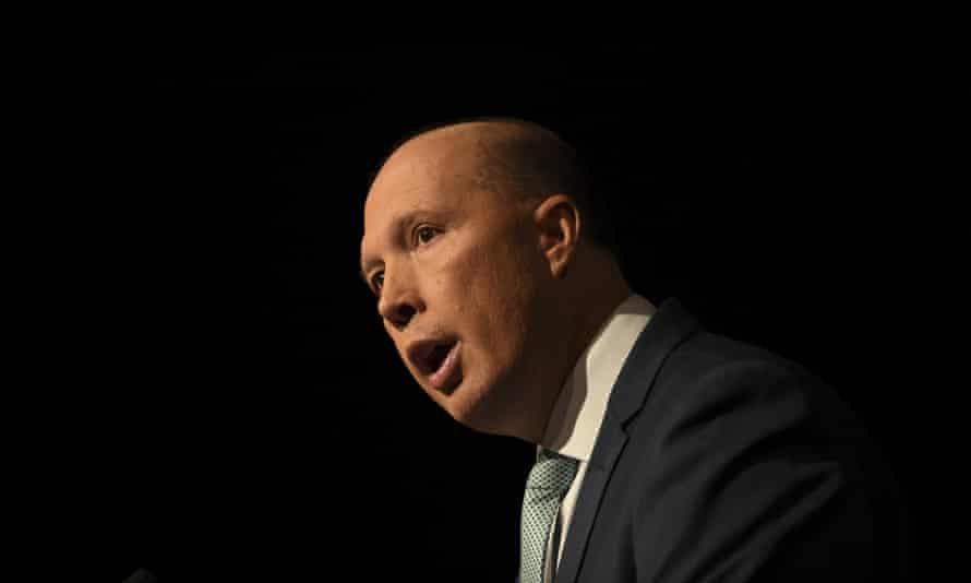 Peter Dutton on Wednesday
