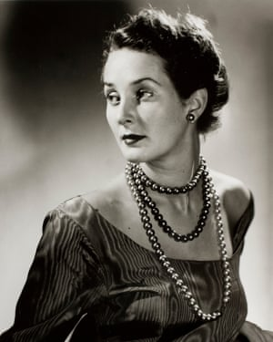A photograph of June Dally Watkins taken in 1949 by Max Dupain, part of the First Ladies: Significant Australian Women 1913-2013 exhibition at the National Portrait Gallery in 2013