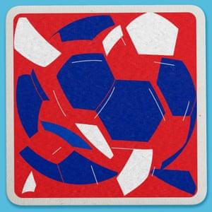 Weird World Cup design by Wade Jeffree