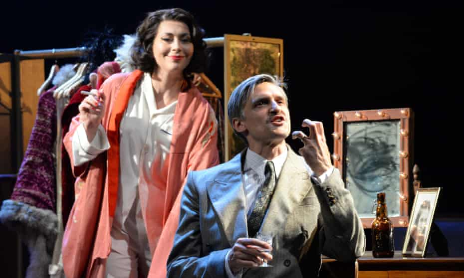 Stephanie Corley as Desiree and Quirijn de Lang as Fredrik in A Little Night Music.